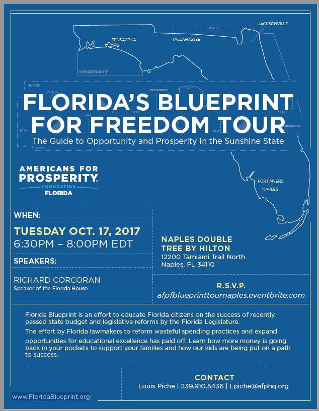 Floridas blueprint for freedom tour republican mens club floridas blueprint for freedom tour malvernweather Gallery